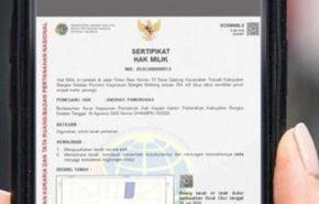 sertifikat elektronik apartemen